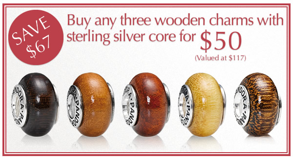 Pandora Jewelry Deal On Wooden Charms June 2013find